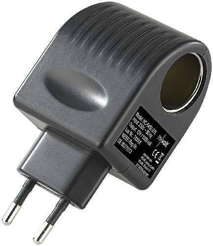 revolt 12 volt adapter mini spannungswandler 230 12 v 1. Black Bedroom Furniture Sets. Home Design Ideas