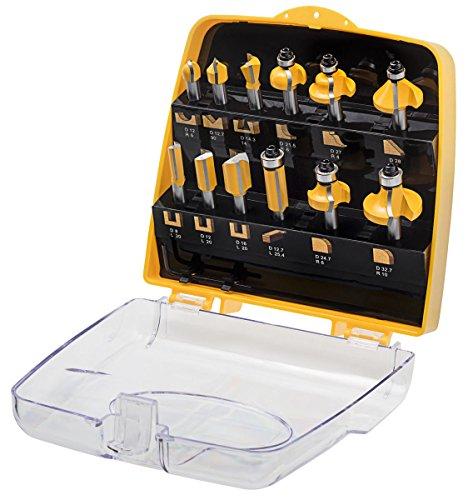 schaft 8 mm ent 12 tlg hm oberfr ser fr ser set in gelber kunststoffkassette ratsivu. Black Bedroom Furniture Sets. Home Design Ideas
